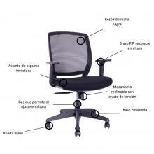 sillas para oficina ortopedicas