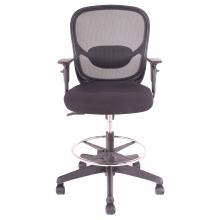 silla tipo cajero ergonómica