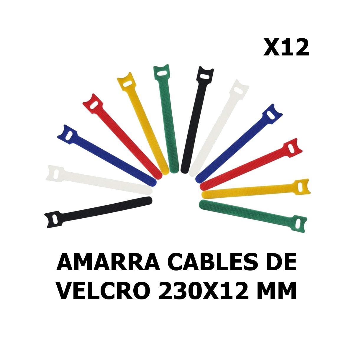 Amarra cables Velcro