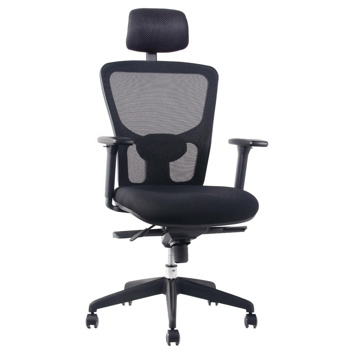 silla de escritorio con cabecero chile