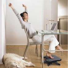 apoya pies escritorio