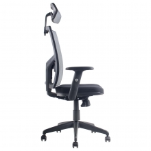 silla ergonomica con apoyo espalda