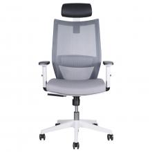 silla ergonómica con regulación de brazos