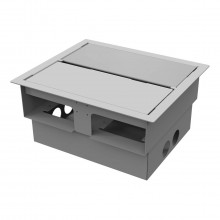 Caja eléctrica Doble Doble Metálica