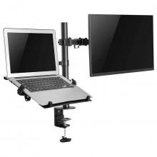 soporte monitor y laptop