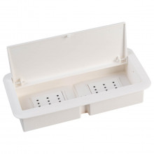 caja para tomacorriente