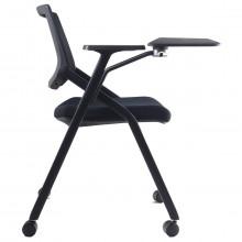 silla universitaria con paleta abatible