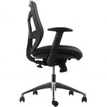 silla negra para oficina