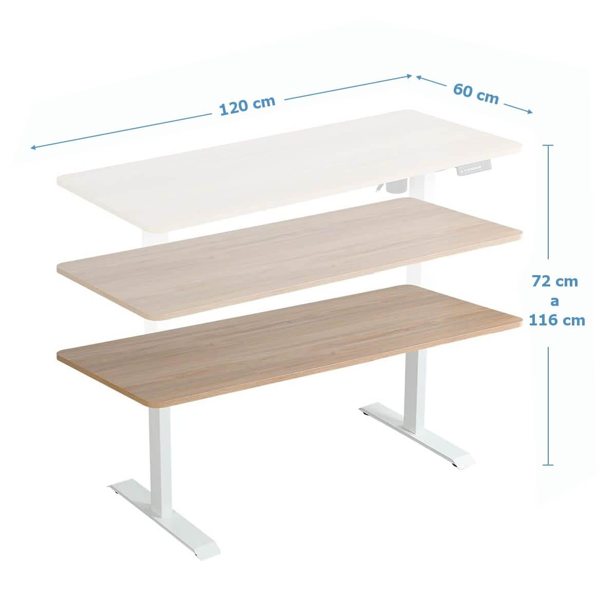 escritorio para trabajar de pie
