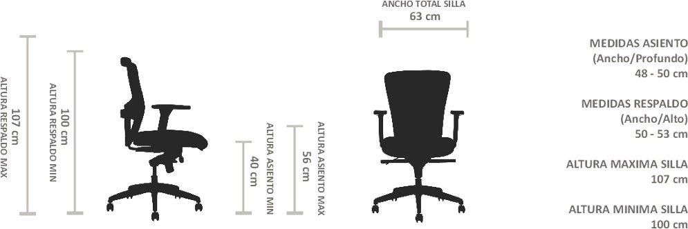 silla ergonómica certificada