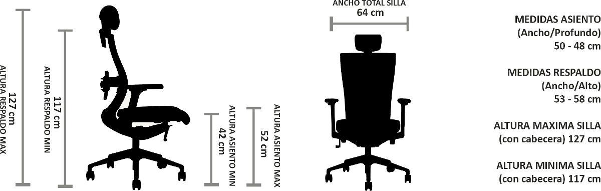 silla oficina chile ergonomicas