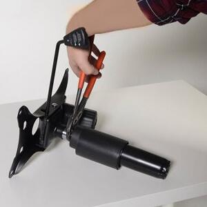 como reparar el cilindro de una silla de oficina