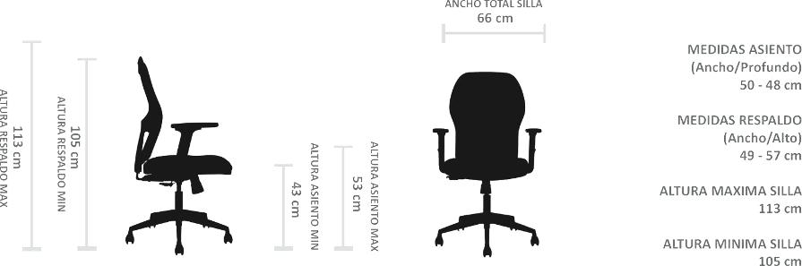 silla de escritorio andes