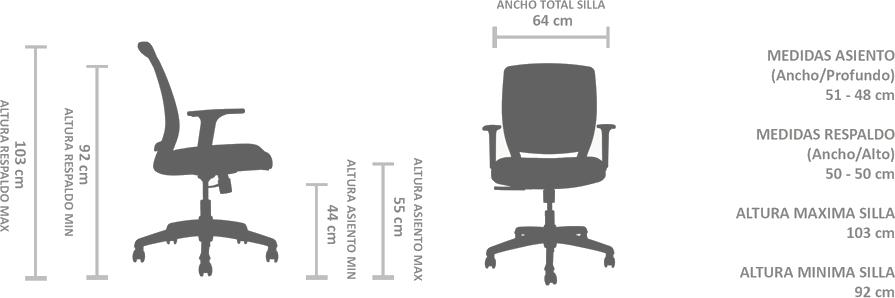 silla ergonomica certificada