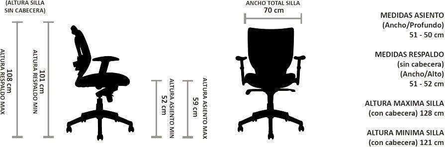 silla ergonomica bart