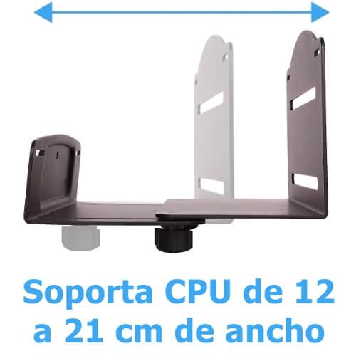 porta cpu ajustable